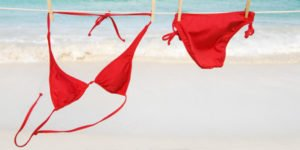 How to wash bathing suits