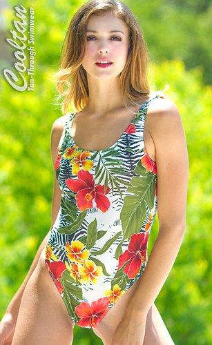 Oahu 1PC Tank Top Suit no tan line swimsuits