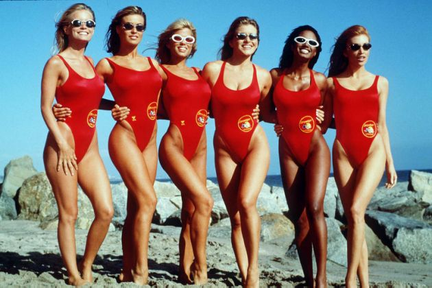 how to make a official baywatch bathing suit