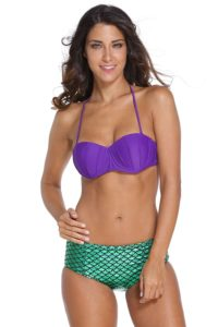 little mermaid womens bathing suit