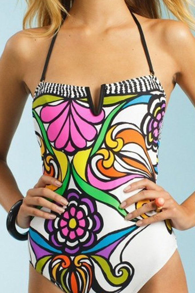pretty one piece to hid that belly pooch away