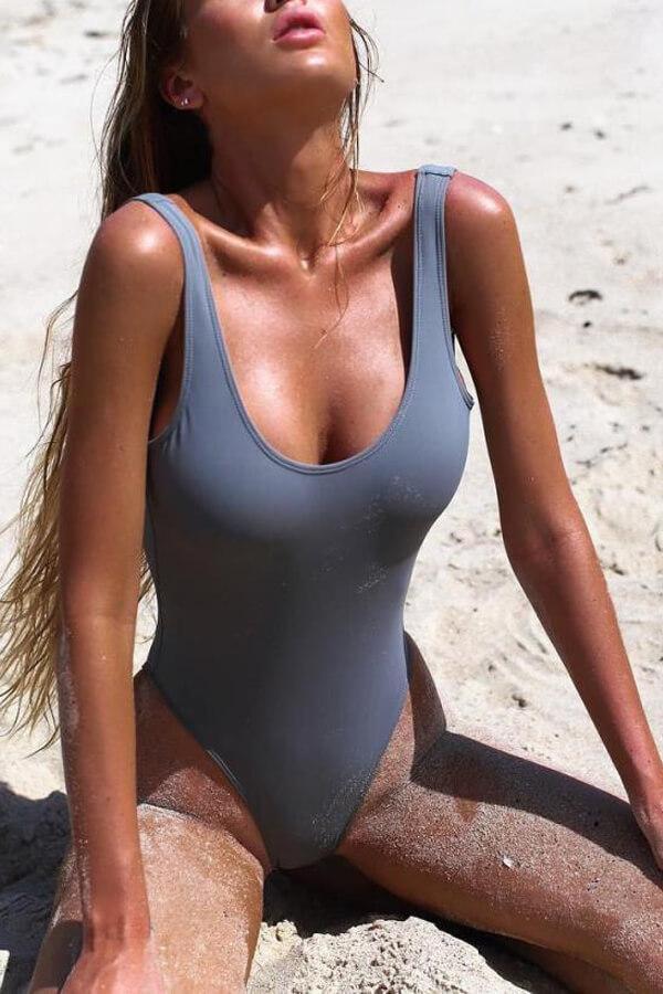 920c71791b6f0 Floralkini High Cut Thong One-Piece Swimwear - Bathing Suits