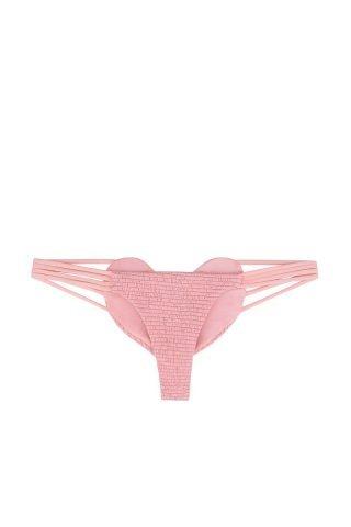 Pink Smocked Heart Bottom