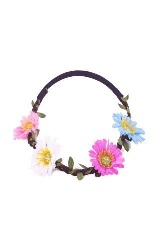 Multi Color Daisy Floral Crown
