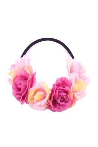 Pink Angel Floral Crown