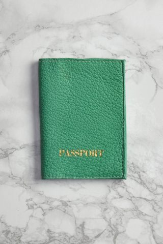 Sea Green Passport Cover