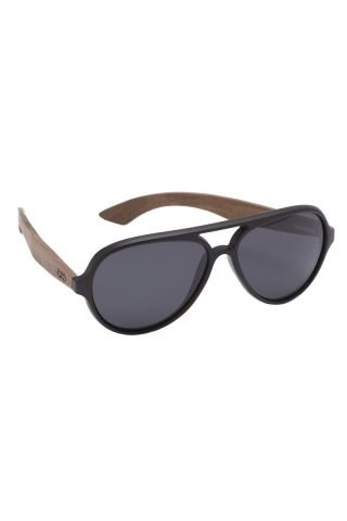 Premium Walnut Wood Temple Sunglasses