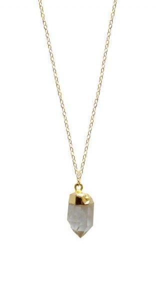 Tantalus Quartz Necklace