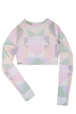 Diamond Crop Rashguard
