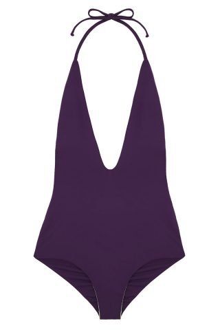 Deep V Reversible One Piece