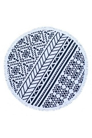 Aztec Round Towel