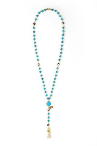 Rose Lariat Necklace