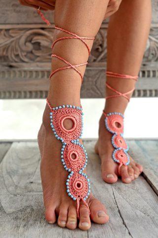 Circle of Life Barefoot Sandal