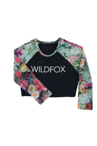 Original Fox Crop Rashguard