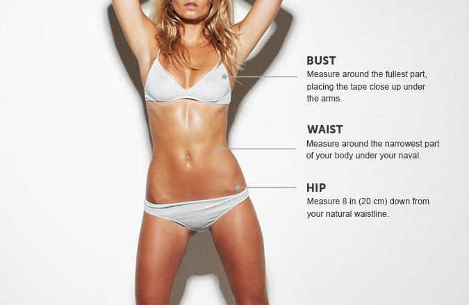 Bikini.com Measure Yourself Correctly
