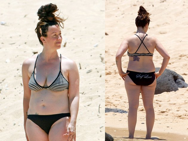 bad photos of celebrities at the beach